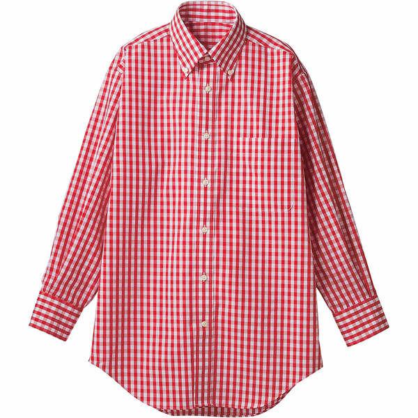 住商モンブラン MONTBLANC(モンブラン) シャツ 兼用 長袖 レッドチェック M CG2503-7(直送品)
