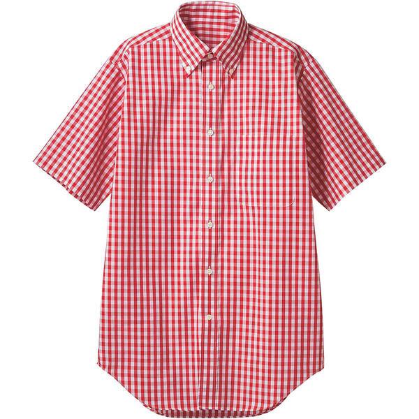 住商モンブラン MONTBLANC(モンブラン) シャツ 兼用 半袖 レッドチェック M CG2504-7(直送品)