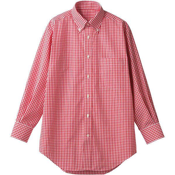 住商モンブラン MONTBLANC(モンブラン) シャツ 兼用 長袖 レッドチェック S CM2503-7(直送品)