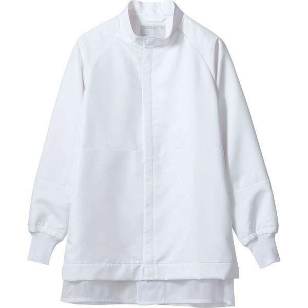 住商モンブラン MONTBLANC(モンブラン) ブルゾン 兼用 長袖 白 L CP8721-2(直送品)
