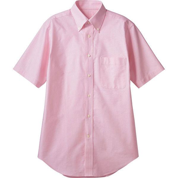 住商モンブラン MONTBLANC(モンブラン) シャツ 兼用 半袖 ピンク 4L CX2504-5(直送品)
