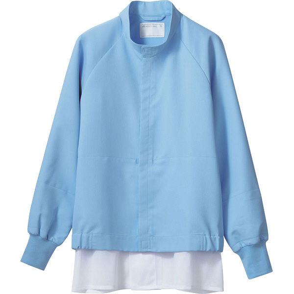 住商モンブラン MONTBLANC(モンブラン) ジャンパー 兼用 長袖 ブルー L DA8701-4(直送品)