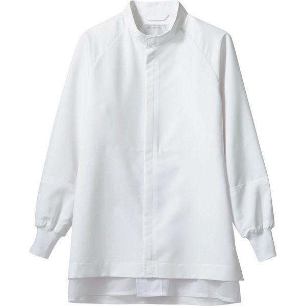 住商モンブラン MONTBLANC(モンブラン) ブルゾン 兼用 長袖 白 L DA8711-2(直送品)