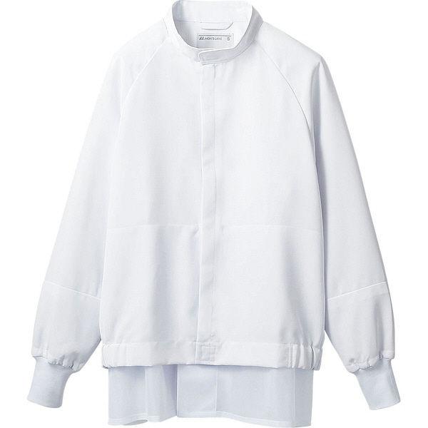 住商モンブラン MONTBLANC(モンブラン) ジャンパー 兼用 長袖 白 LL DC8701-2(直送品)