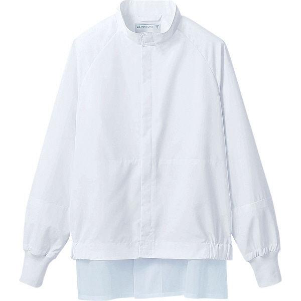住商モンブラン MONTBLANC(モンブラン) ジャンパー 兼用 長袖 白 LL DF8701-2(直送品)