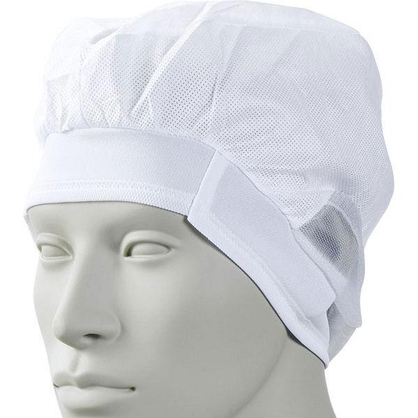 住商モンブラン MONTBLANC(モンブラン) エレクトレット帽 20枚入り 耳だし 白 M EC-11 1セット(直送品)