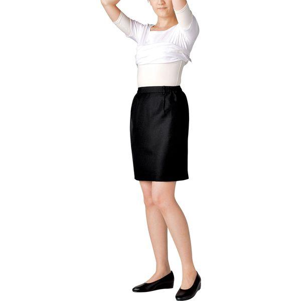 住商モンブラン MONTBLANC(モンブラン) スカート レディス 両脇ゴム 黒 3L GS7211-1(直送品)