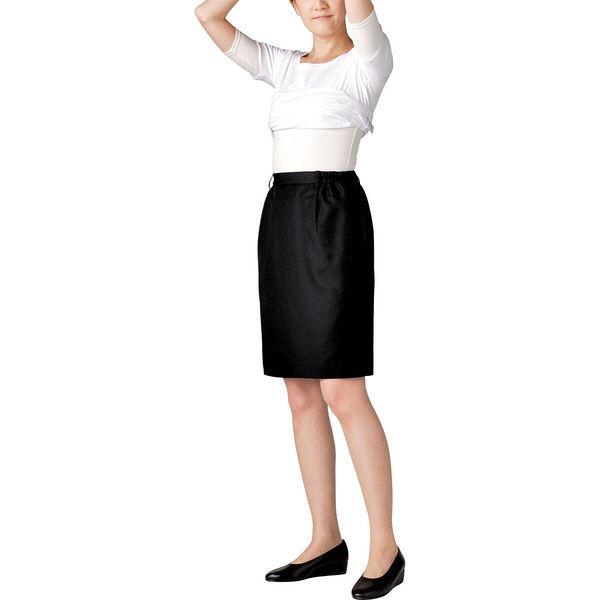 住商モンブラン MONTBLANC(モンブラン) スカート レディス 両脇ゴム 黒 L GS7221-1(直送品)