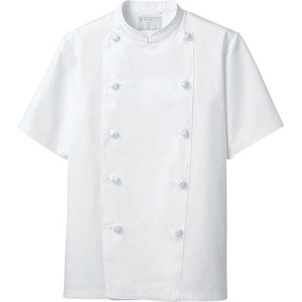 住商モンブラン MONTBLANC(モンブラン) コックコート 兼用 半袖 白 5L KS6622-2(直送品)