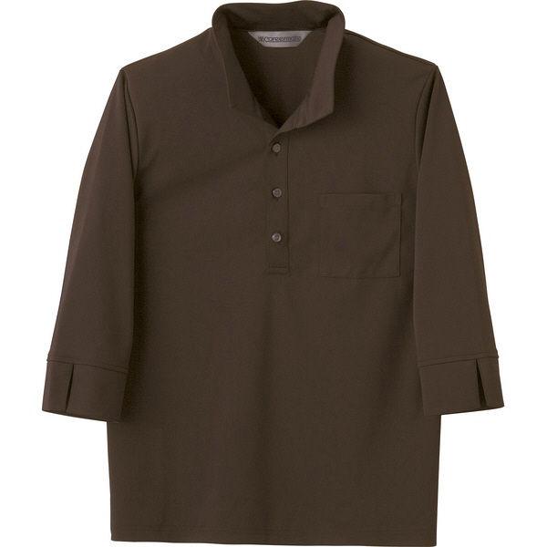 住商モンブラン Careermate(キャリアメイト) ニットシャツ 兼用 7分袖 カーキ M MC2715(直送品)