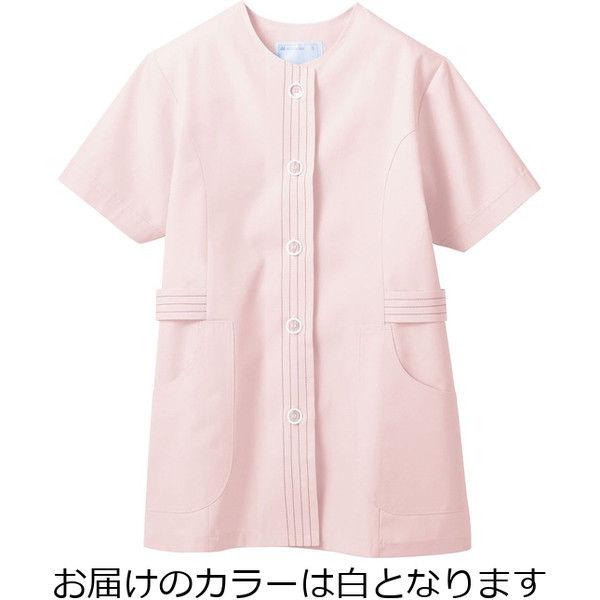 住商モンブラン MONTBLANC(モンブラン) 調理衣 レディス 半袖 白 S 1-072(直送品)
