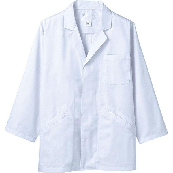 住商モンブラン MONTBLANC(モンブラン) 調理衣 メンズ 長袖 白 S 1-601(直送品)