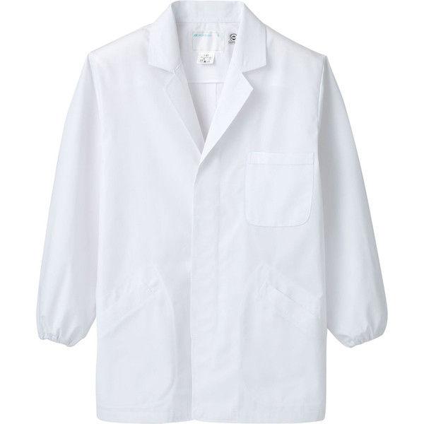 住商モンブラン MONTBLANC(モンブラン) 調理衣 メンズ 長袖 エコ 白 S 1-821(直送品)