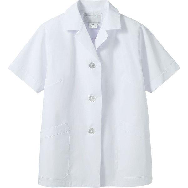 住商モンブラン MONTBLANC(モンブラン) 調理衣 レディス 半袖 白 4L 1-002(直送品)