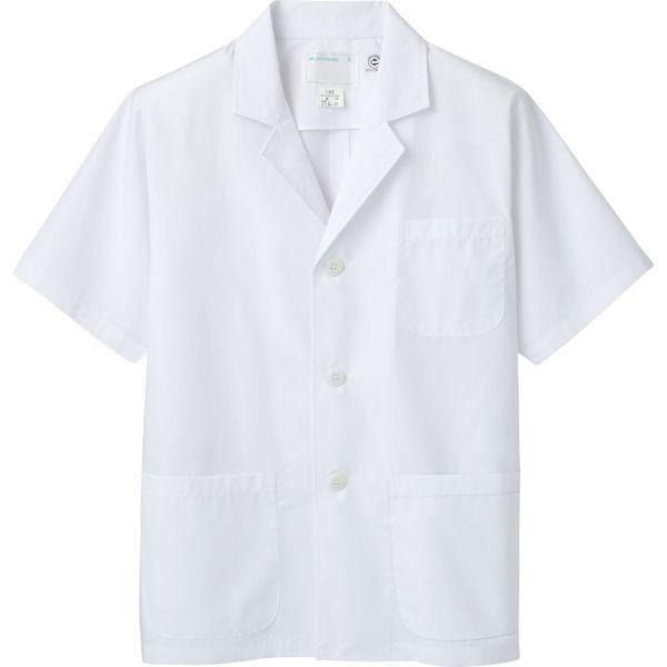 住商モンブラン MONTBLANC(モンブラン) 調理衣 メンズ 半袖 エコ 白 LL 1-802(直送品)