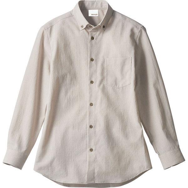 住商モンブラン Onibegie(R)(オニベジ) シャツ 兼用 長袖 ライトグレー S OV2501-8(直送品)