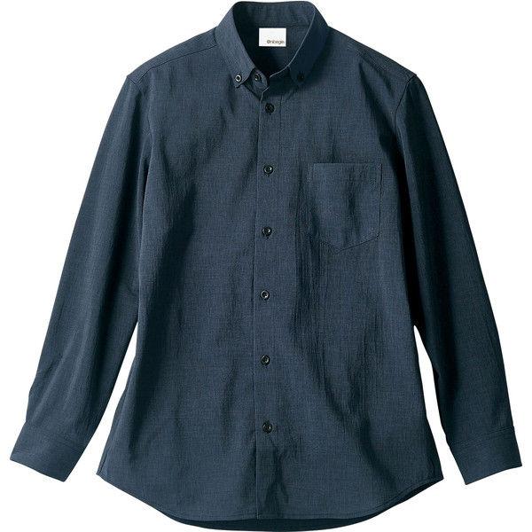 住商モンブラン Onibegie(R)(オニベジ) シャツ 兼用 長袖 ネイビー M OV2501-9(直送品)