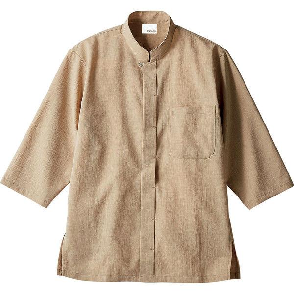 住商モンブラン Onibegie(R)(オニベジ) 調理シャツ 兼用 7分袖 ベージュ 3L OV2502-3(直送品)