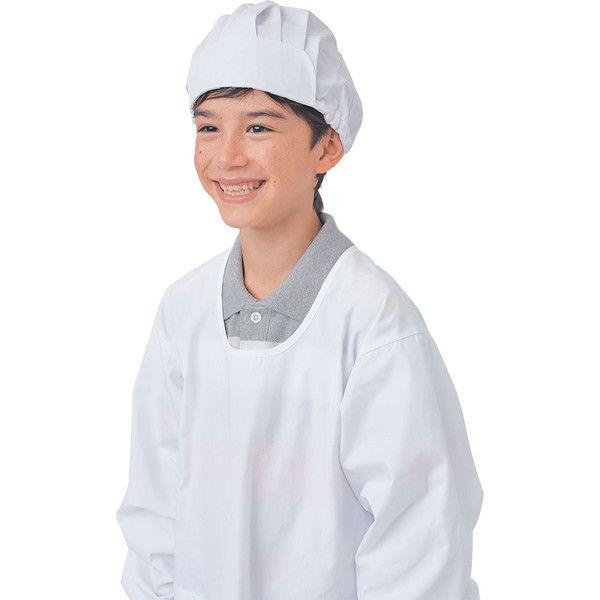 住商モンブラン MONTBLANC(モンブラン) 給食帽(2枚入り) 児童用 サックス L PE921-6 1セット(直送品)