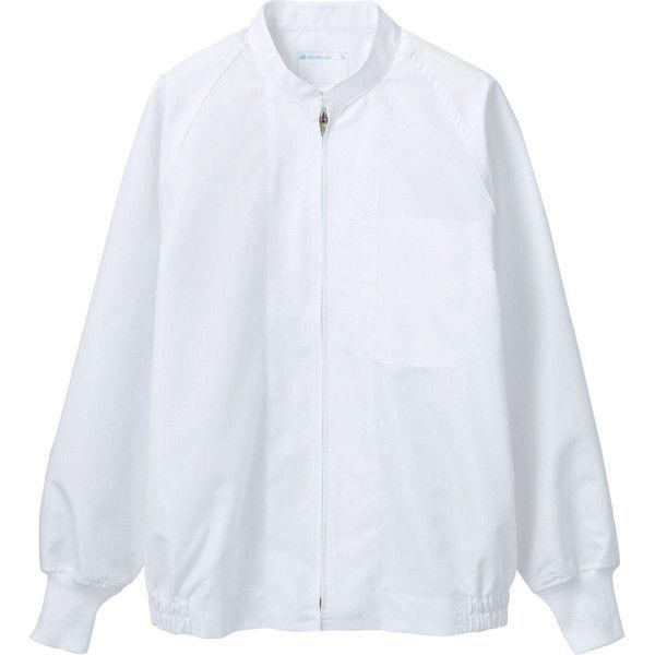 住商モンブラン MONTBLANC(モンブラン) ジャンパー 兼用 長袖 白 4L RP8501-2(直送品)