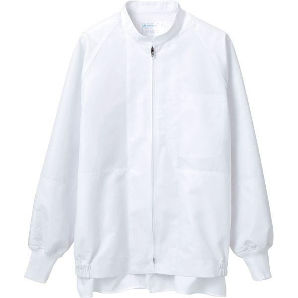 住商モンブラン MONTBLANC(モンブラン) ジャンパー 兼用 長袖 白 M RP8521-2(直送品)