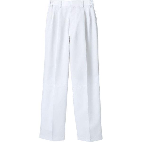 住商モンブラン MONTBLANC(モンブラン) パンツ 兼用 裾インナー付 白 3L RS7511-2(直送品)