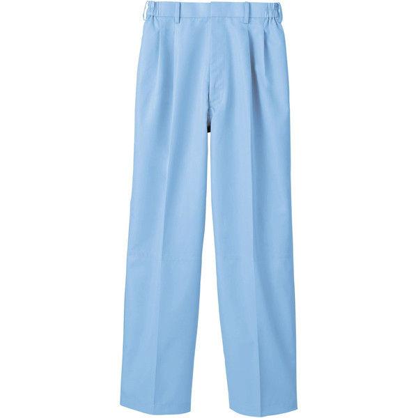 住商モンブラン MONTBLANC(モンブラン) パンツ 兼用 裾インナー付 ブルー 6L RS7511-4(直送品)