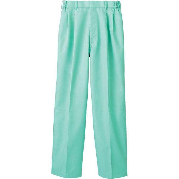 住商モンブラン MONTBLANC(モンブラン) パンツ 兼用 裾インナー付 グリーン 3L RS7511-6(直送品)