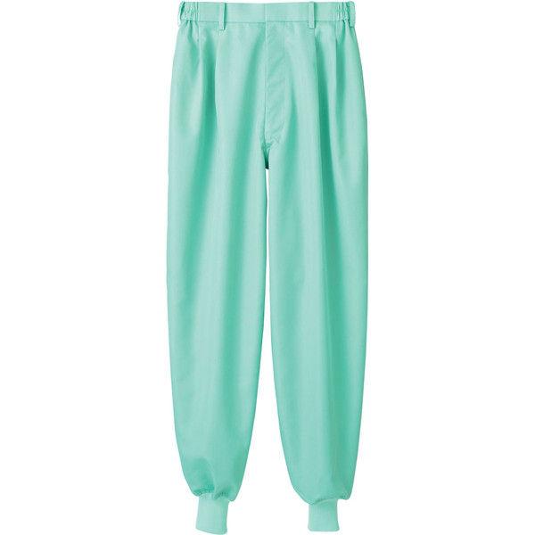 住商モンブラン MONTBLANC(モンブラン) パンツ 兼用 裾フライス グリーン 3L RS7521-6(直送品)