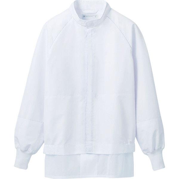 住商モンブラン MONTBLANC(モンブラン) ジャンパー 兼用 長袖 白 4L RS8701-2(直送品)