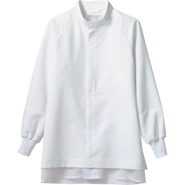 住商モンブラン MONTBLANC(モンブラン) ブルゾン 兼用 長袖 白 M SD8711-2(直送品)
