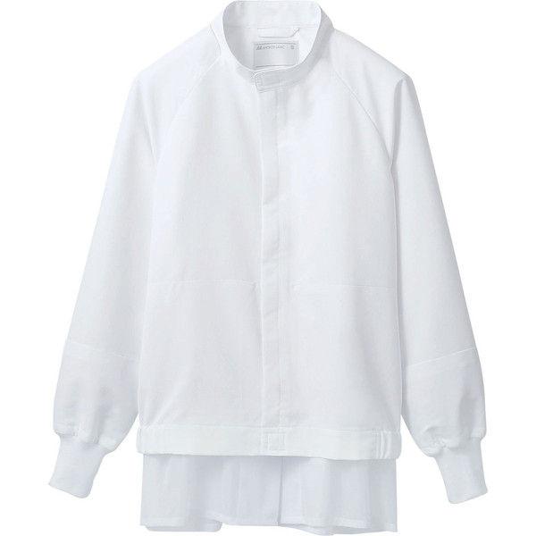 住商モンブラン MONTBLANC(モンブラン) ジャンパー 兼用 長袖 白 3L ST8701-2(直送品)