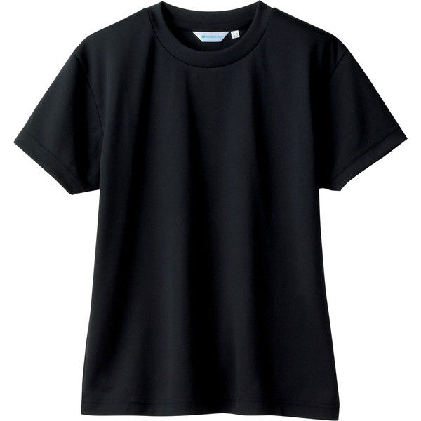 住商モンブラン MONTBLANC(モンブラン) Tシャツ 兼用 半袖 袖ネット付 黒 SS 2-512(直送品)