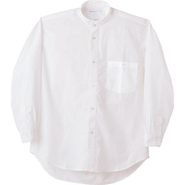 住商モンブラン MONTBLANC(モンブラン) シャツ 兼用 長袖 白 SS 2-531(直送品)