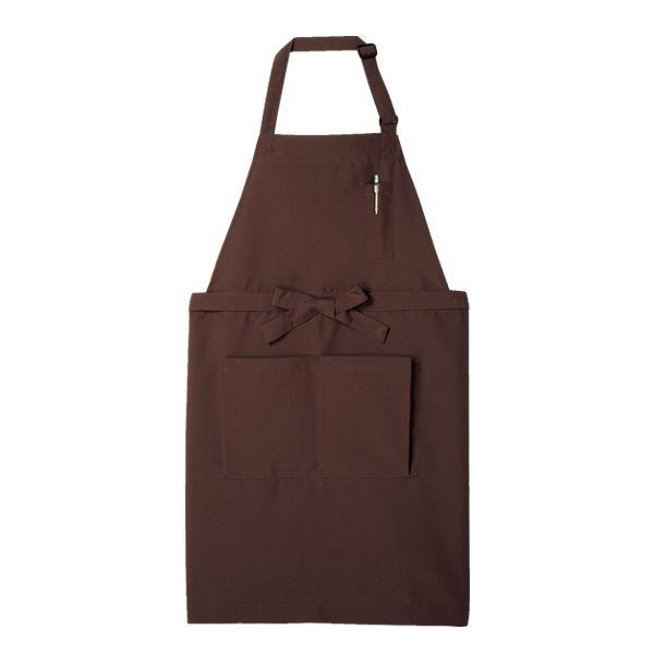 住商モンブラン MONTBLANC(モンブラン) エプロン 兼用 チョコレート フリー 5-633(直送品)