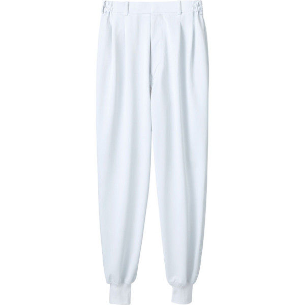 住商モンブラン MONTBLANC(モンブラン) パンツ 兼用 裾フライス 白 SS 7-451(直送品)