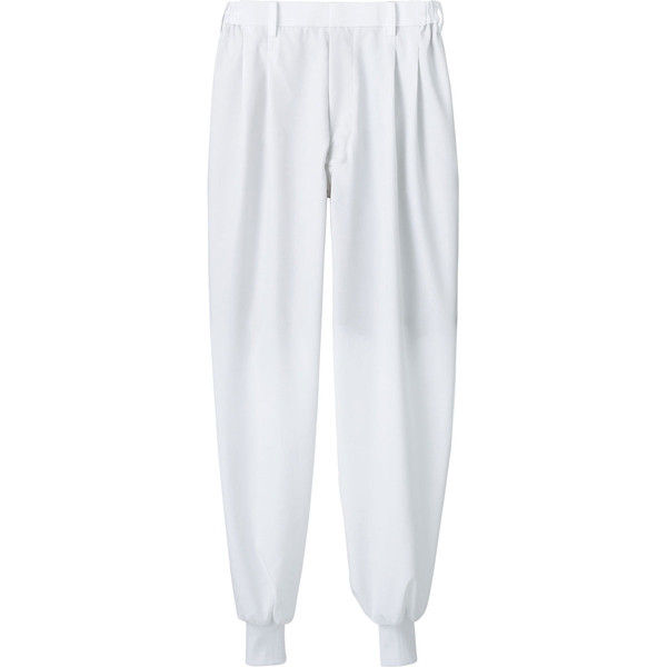 住商モンブラン MONTBLANC(モンブラン) パンツ 兼用 裾フライス 白 SS 7-531(直送品)