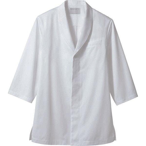 住商モンブラン MONTBLANC(モンブラン) 調理コート 兼用 7分袖 3L 1-861(直送品)