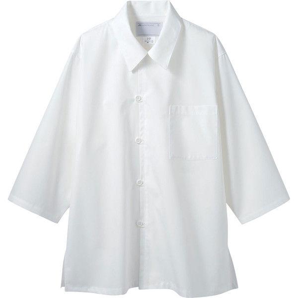 住商モンブラン MONTBLANC(モンブラン) 調理シャツ 兼用 7分袖 オフ白 LL 2-221(直送品)