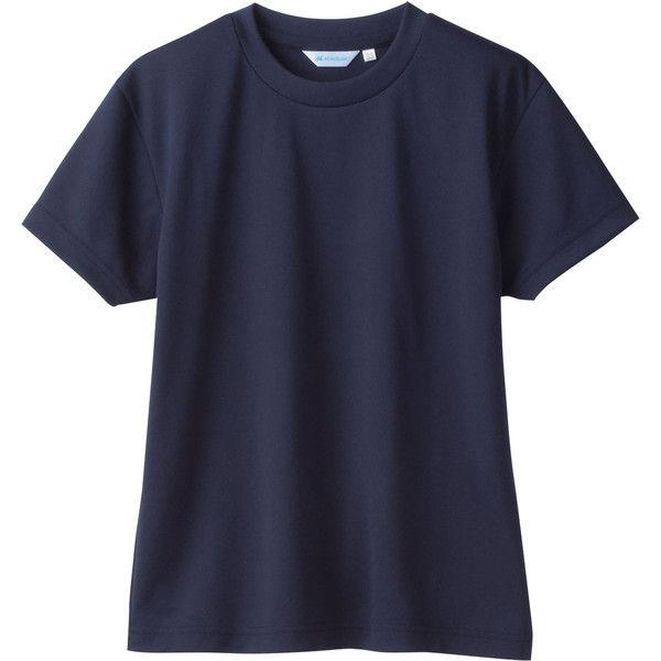 住商モンブラン MONTBLANC(モンブラン) Tシャツ 兼用 半袖 袖ネット付 ネイビー M 2-513(直送品)
