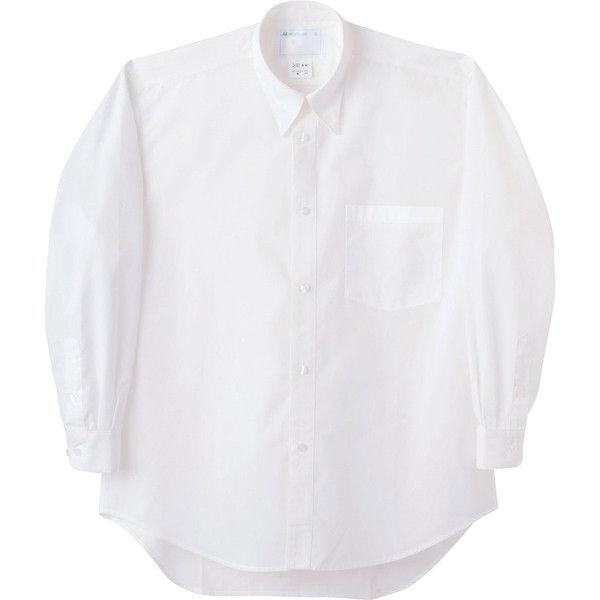 住商モンブラン MONTBLANC(モンブラン) シャツ 兼用 長袖 白 S 2-521(直送品)