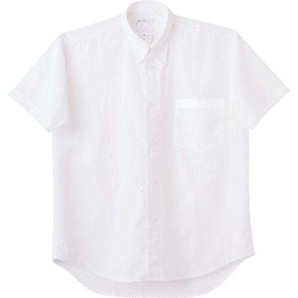 住商モンブラン MONTBLANC(モンブラン) シャツ 兼用 半袖 白 L 2-522(直送品)