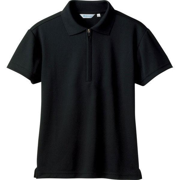 住商モンブラン MONTBLANC(モンブラン) ポロシャツ 兼用 半袖 袖ネット付 黒 4L 2-572(直送品)