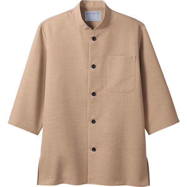 住商モンブラン MONTBLANC(モンブラン) シャツ 兼用 7分袖 ベージュ M 2-713(直送品)
