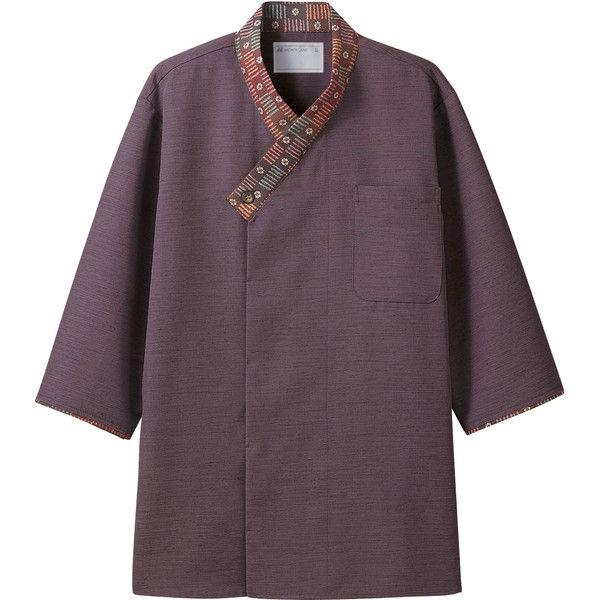 住商モンブラン MONTBLANC(モンブラン) シャツ 兼用 7分袖 パープル/茶 SS 2-725(直送品)