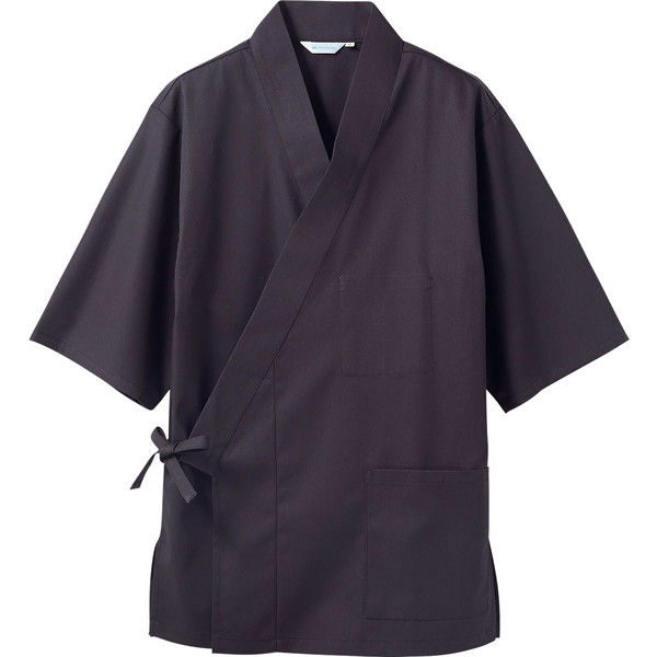 住商モンブラン MONTBLANC(モンブラン) はっぴ 兼用 7分袖 黒 3L 3-701(直送品)