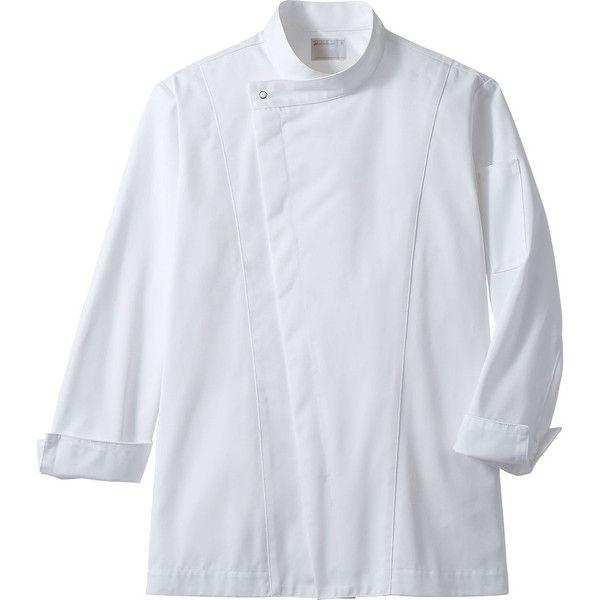 住商モンブラン MONTBLANC(モンブラン) コックコート 兼用 長袖 白 M 6-1011(直送品)