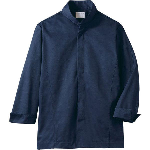 住商モンブラン MONTBLANC(モンブラン) コックコート 兼用 長袖 ネイビー S 6-1037(直送品)