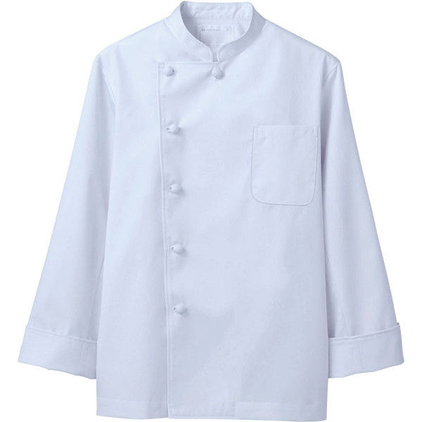 住商モンブラン MONTBLANC(モンブラン) コックコート 兼用 長袖 白 3L 6-921(直送品)