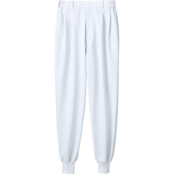 住商モンブラン MONTBLANC(モンブラン) パンツ 兼用 裾フライス 白 5L 7-451(直送品)